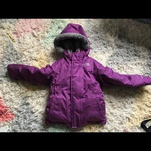 North Face Toddler Girl Down Jacket